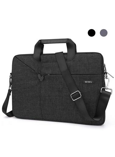 Wiwu Wiwu MacBook Pro Air Retina 13.3 inç Çanta Kılıf Koruma Laptop Notebook Omuz Askılı Su Gecirmez Siyah